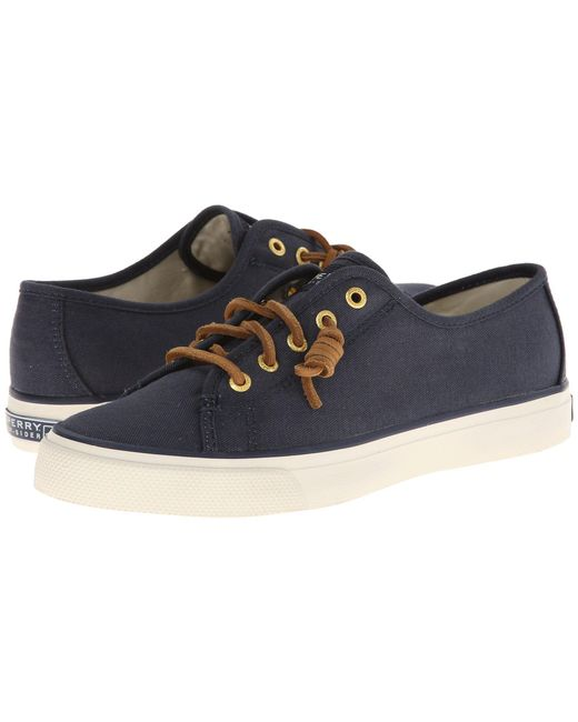 Sperry Top-Sider - Blue Seacoast (navy Burnished Canvas) Women's Lace Up Casual Shoes - Lyst
