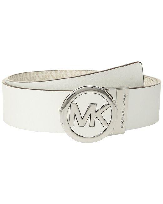 MICHAEL Michael Kors - Multicolor Smooth Leather Reversible Belt - Lyst