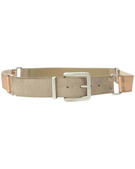 Leatherock - Multicolor Lexi Belt (hazel/rose Gold) Women's Belts - Lyst