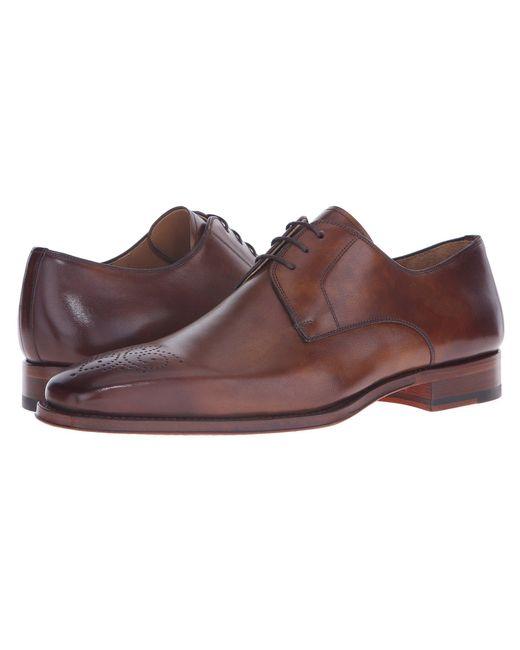 Magnanni Shoes - Brown Gerardo (grey) Men's Lace Up Casual Shoes for Men - Lyst