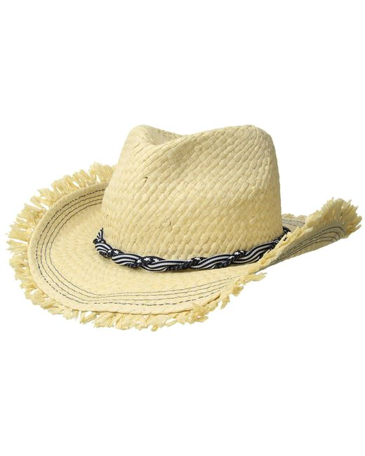 Roxy - Beach Wearing Fedora Hat (natural) Fedora Hats - Lyst
