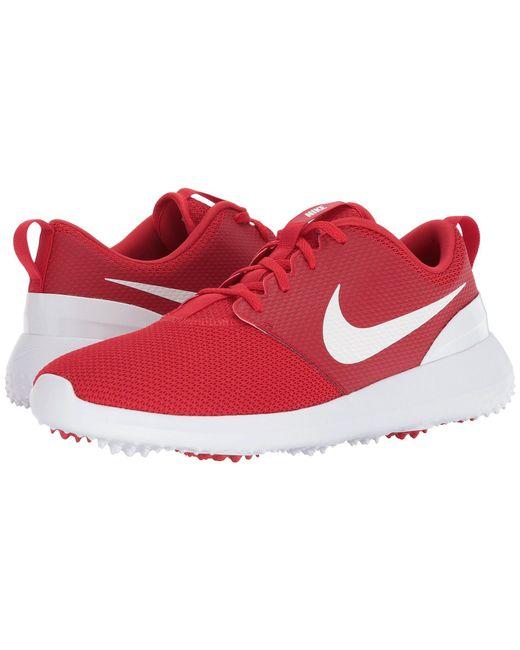 Lyst - Nike Roshe G (thunder Blue white) Men s Golf Shoes in Red for Men a63cd0712