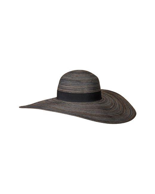 San Diego Hat Company - Black Mxl1020os Mixed Poly Braid Sunbrim (natural Mix) Caps - Lyst
