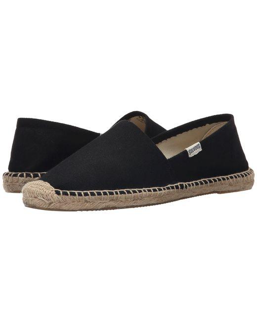 Soludos - Green Original Dali (black) Women's Shoes - Lyst