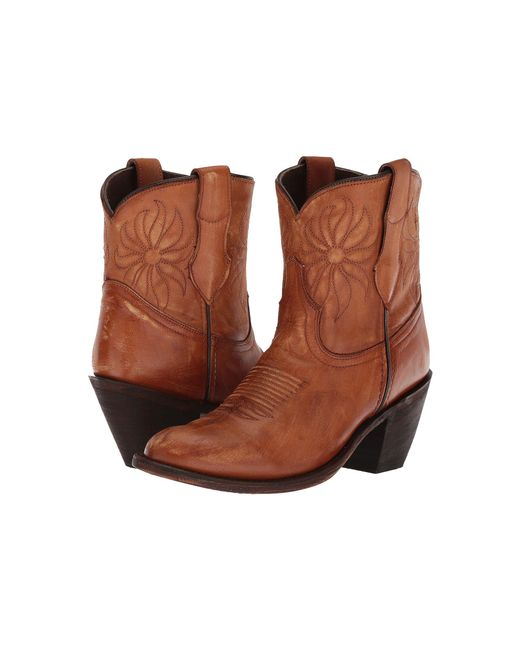 Dingo - Brown Delilah (tan) Cowboy Boots - Lyst