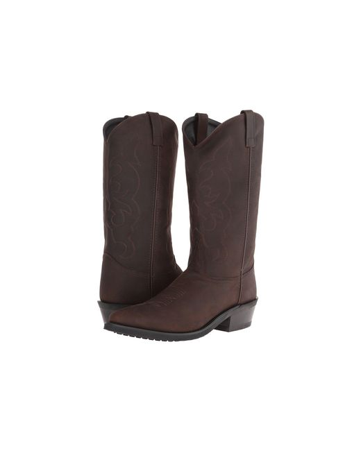 Old West Boots Brown Tbm3051 for men