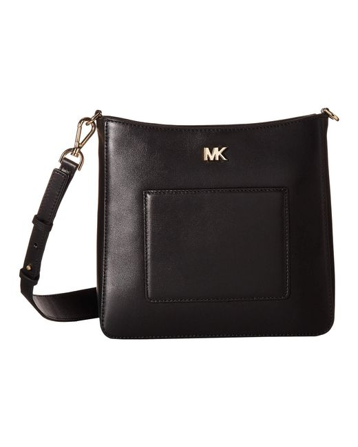 MICHAEL Michael Kors - Black Gloria Pocket Swing Pack (oxblood) Bags - Lyst