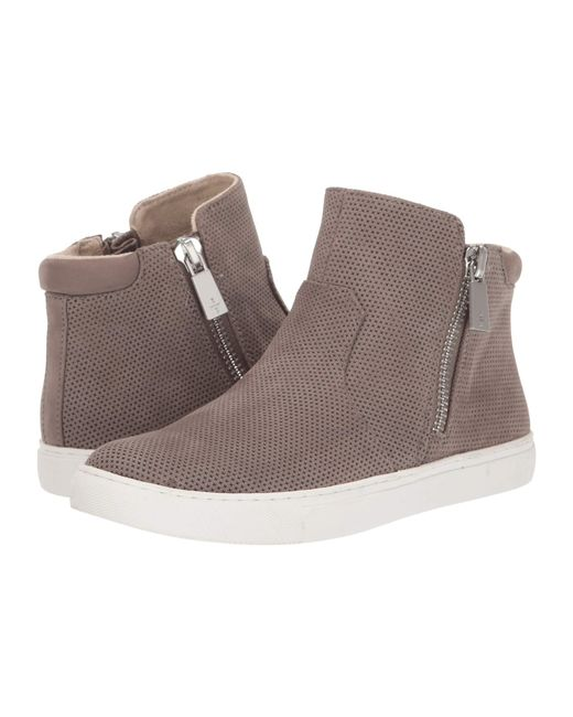 Kenneth Cole Leather Kiera Perf In Gray