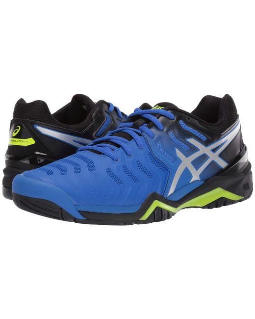 purchase cheap 84b3b da9f4 Asics - Gel-resolution 7 (illusion Blue silver) Men s Tennis Shoes for ...