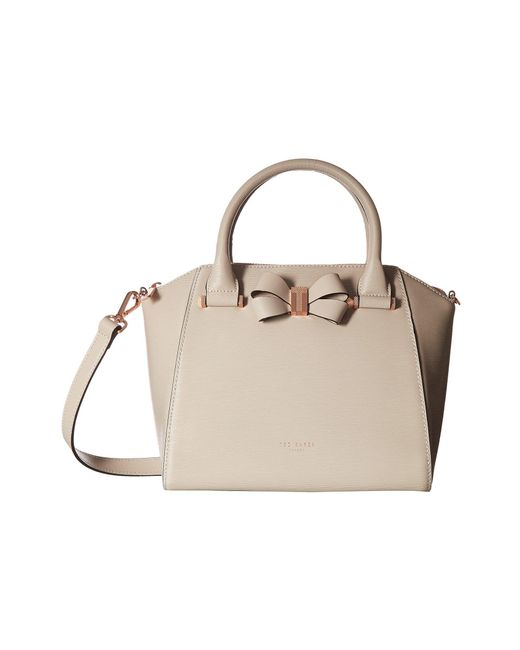 Ted Baker | Natural Core Bow Small Tote | Lyst