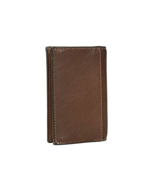 outlet store 0f760 836d5 Men's Brown Bifold Card Case In Sport Calf