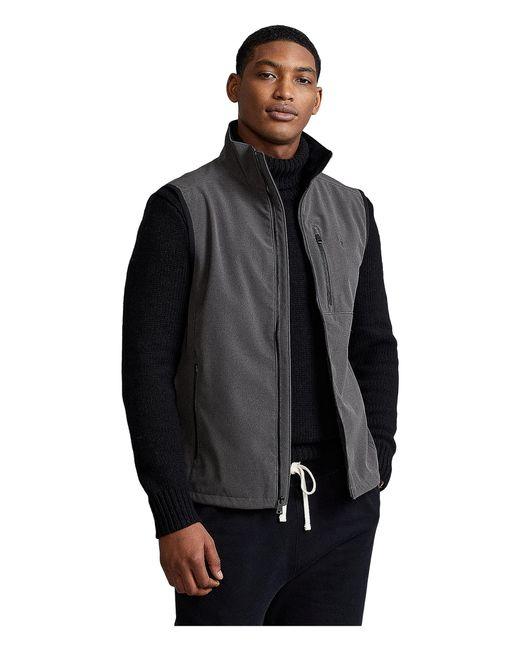 Polo Ralph Lauren Gray Water-repellant Softshell Vest for men