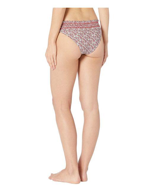 77a08f6e99 ... Tory Burch - Multicolor Costa Hipster Bottom (wild Pansy Mini) Women s  Swimwear ...