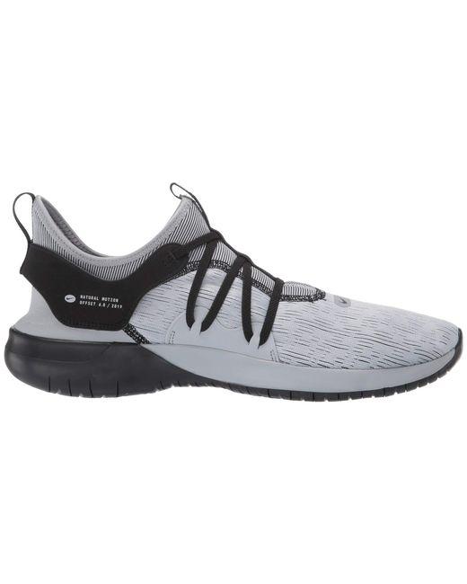 995f8c45763f ... Nike - Gray Flex Contact 3 (black university Red white) Men s Running  ...