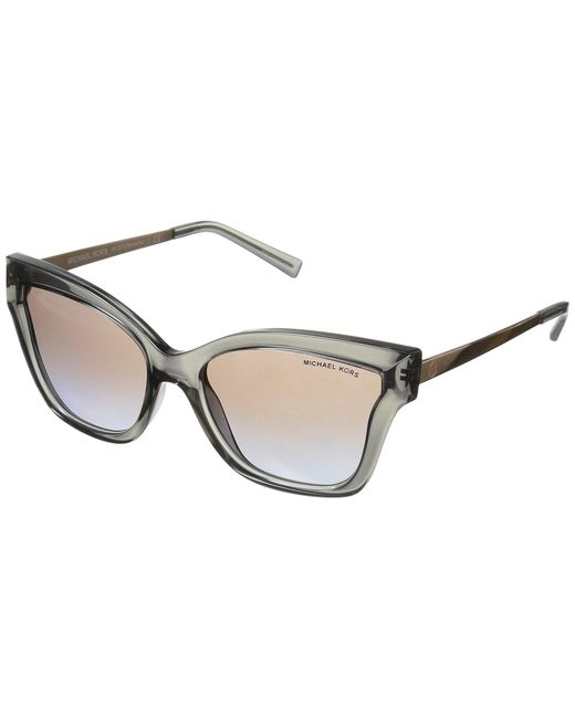 Michael Kors - Multicolor Barbados 0mk2072 56mm (milky Pink Injected/brown Peach Gradient) Fashion Sunglasses - Lyst