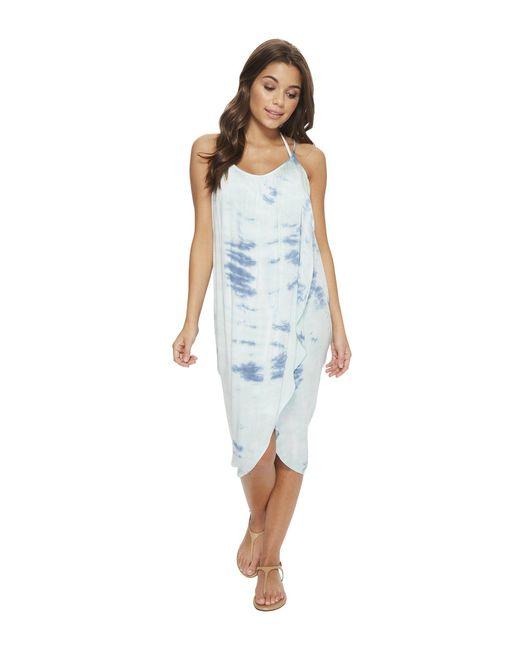 Green Dragon - Blue Heaven Genevieve Wrap Dress (seafoam) Women's Dress - Lyst