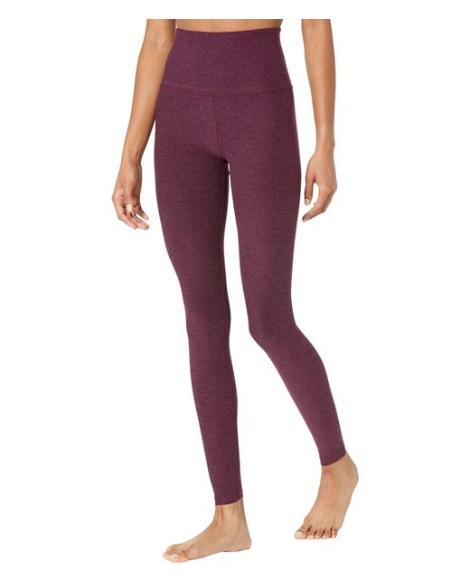 Beyond Yoga Brown Spacedye High Waisted Long Leggings