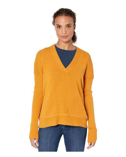 Carve Designs Yellow Aurora Sweater