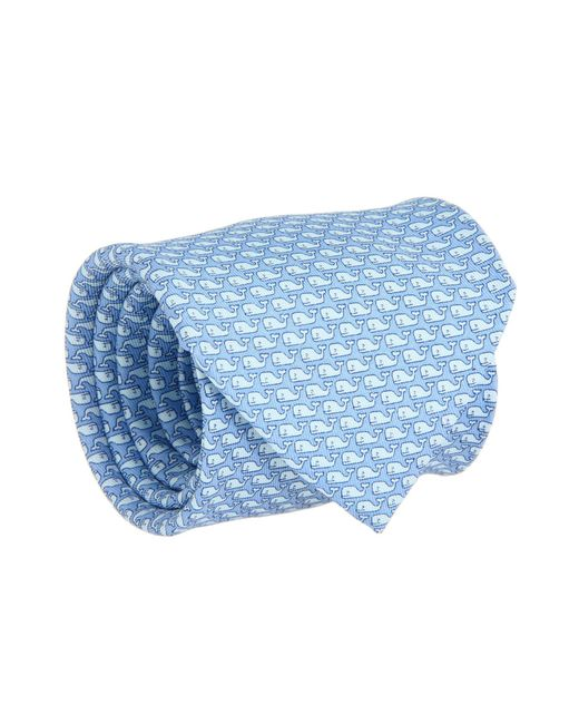 Vineyard Vines - Blue Vineyard Whale Silk Tie (green Gecko) Ties for Men - Lyst
