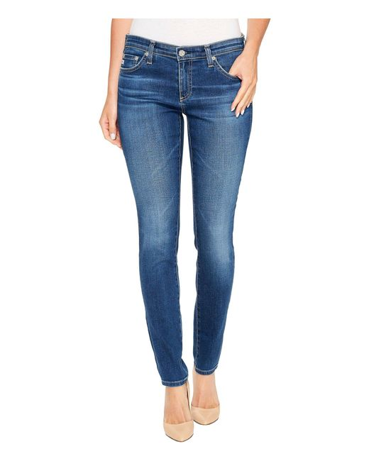 AG Jeans - Blue The Legging Ankle In 18 Years (18 Years) Women's Jeans - Lyst