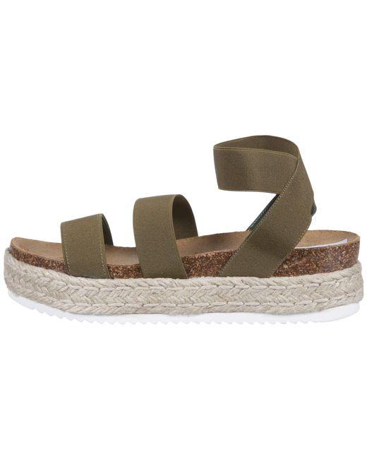 1ae405c3087 ... Lyst Steve Madden - Green Kimmie Espadrille Sandal (white) Women s  Shoes ...