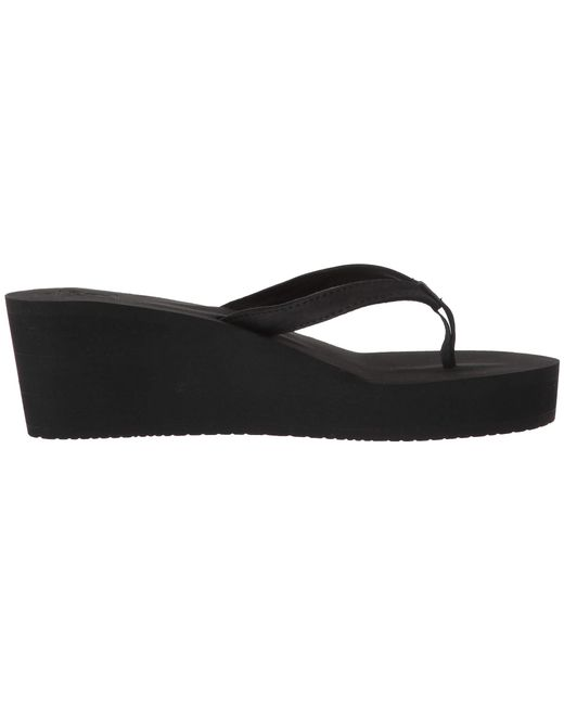 1bd5064437 ... Lyst Reef - Black Midnight (rose Gold) Women's Sandals ...