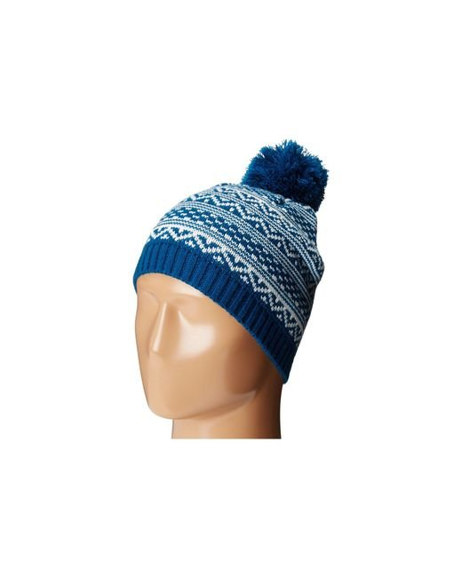 San Diego Hat Company - Multicolor Knh3432 Intarsia Knit Beanie (moroccan Blue) Beanies - Lyst