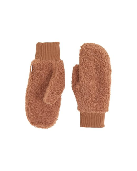 The North Face Brown Heritage Sherpa Mitt