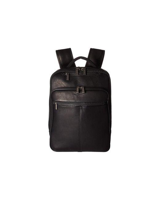 Kenneth Cole Reaction Black Rfid Ez Scan Computer Business Backpack