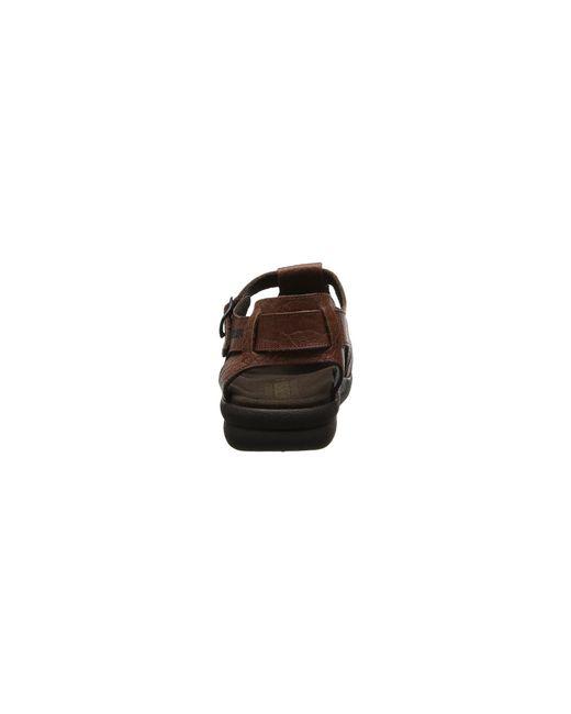 1dc3bb0c4f86 Lyst - Mephisto Sam (dark Brown Oldbrush) Men s Sandals in Brown for Men