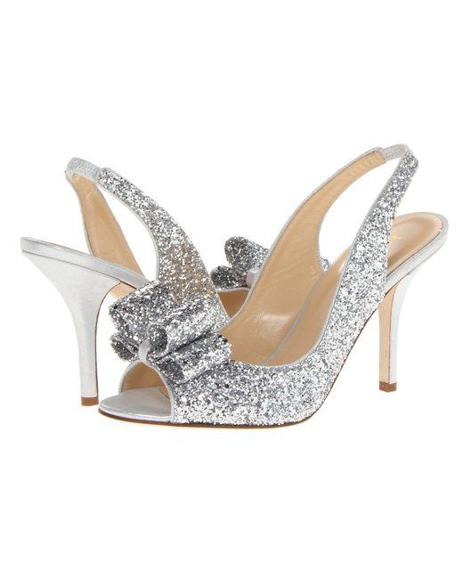 Kate Spade - Metallic Charm Heel - Lyst