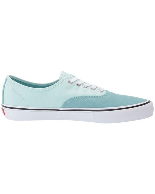 7e67e55be606e1 ... Vans - Blue Authentictm Pro (frost Gray classic Gum) Men s Skate Shoes  for ...