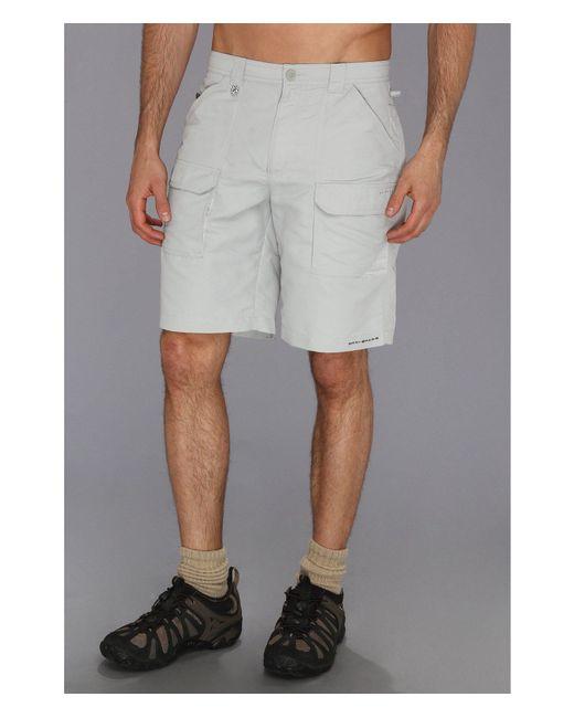 Columbia - Gray Permittm Ii Short (carbon) Men's Shorts for Men - Lyst