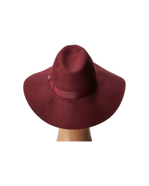 San Diego Hat Company Womens WFH8049 Wide Flat Brim Fedora