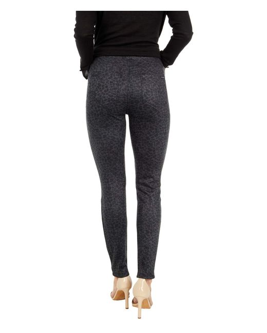 Sanctuary Black Runway Faux Suede Leggings With Functional Pockets