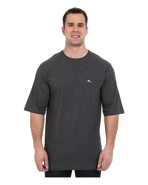 Tommy Bahama - Gray Big Tall New Bali Skyline T-shirt (charcoal Heather) Men's T Shirt for Men - Lyst