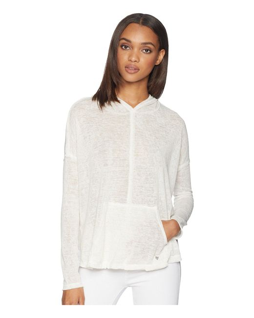 Billabong - White These Days Knit Top (olive) Women's Clothing - Lyst