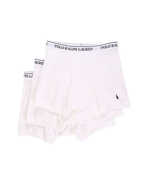 Polo Ralph Lauren | White 3-pack Boxer Brief for Men | Lyst