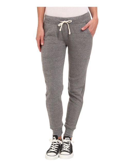Alternative Apparel | Gray Eco Fleece Jogger Pant | Lyst
