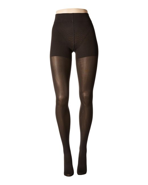 Wolford - Black Velvet De Luxe 66 Control Top Tights (anthracite) Fishnet Hose - Lyst