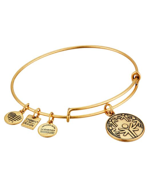 ALEX AND ANI - Metallic Charity By Design - Power Of Unity Bracelet - Lyst