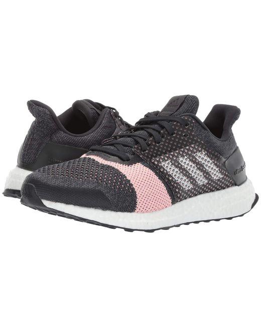 on sale a9a16 3d6f5 Adidas Originals - Metallic Ultraboost St (carbonwhitegrey) Womens  Running Shoes ...