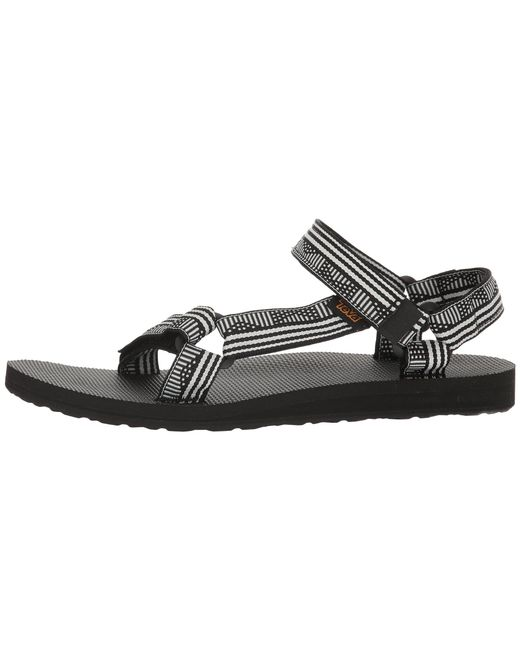3f41aa5ba4361f Lyst - Teva Original Universal (bright White) Women s Sandals in Black
