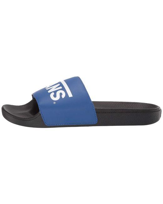 da74a265ed07b9 ... Vans - Blue Slide-on (() Potters Clay) Slide Shoes - Lyst ...