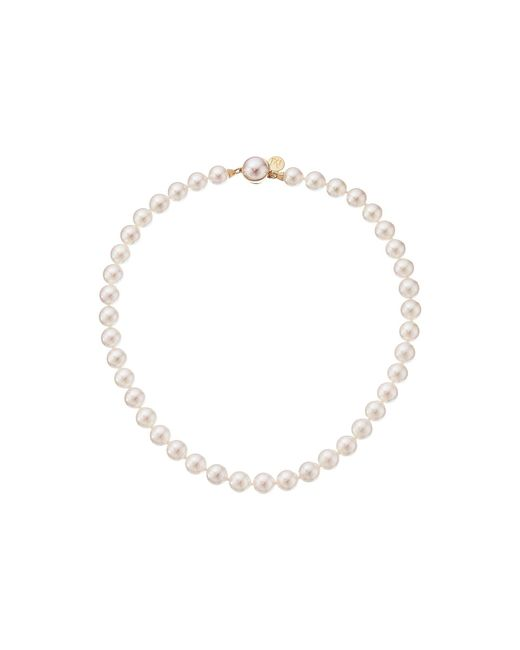Majorica - 10mm Pearl Strand Necklace (white) Necklace - Lyst