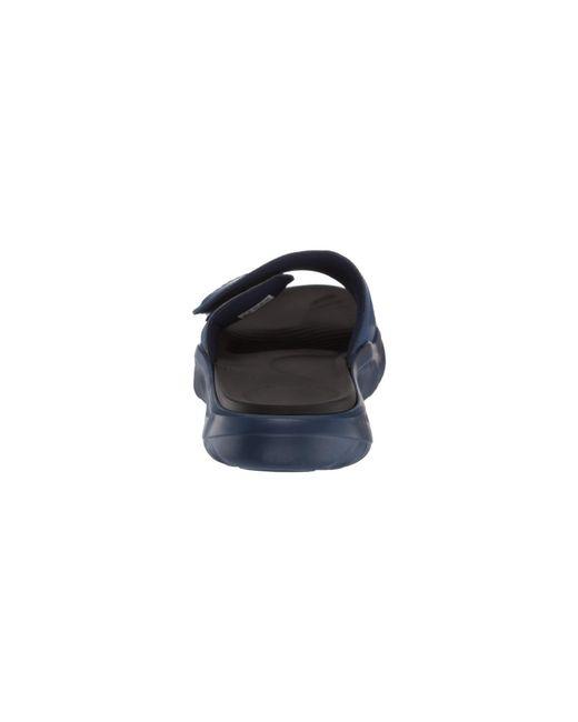 dab3b3f3679b ... Adidas - Alphabounce Basketball Slides (dark Blue footwear White core  Black) Men s ...