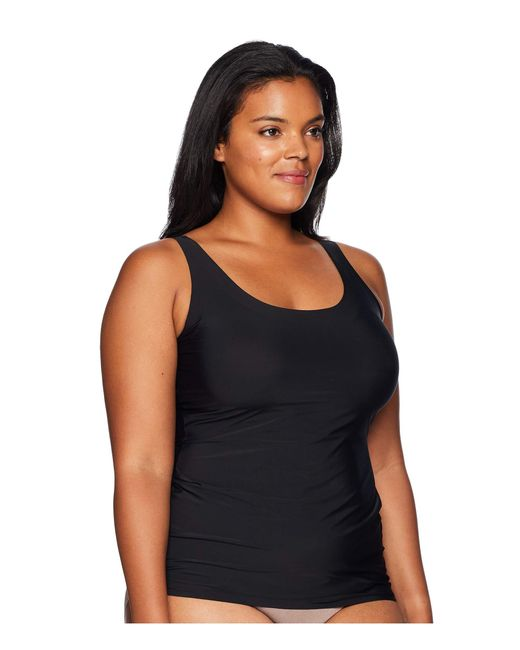 6dacc16cb7 ... Yummie - Plus Size 6-in-1 Shaping Tank Top W  Bonded Construction ...