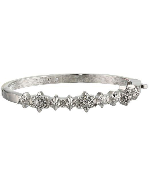 Vince Camuto Metallic Small Button Hinge Bracelet