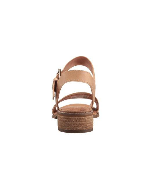 2c5a3bbfa719 ... TOMS - Brown Camilia (honey Leather geometirc Woven) Women s Sandals ...