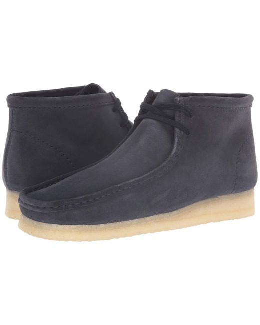 Clarks - Blue Wallabee Boot (beeswax) Men's Shoes for Men - Lyst